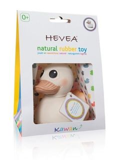 Natural Rubber Duck Toy. Non Toxic Baby Toy.