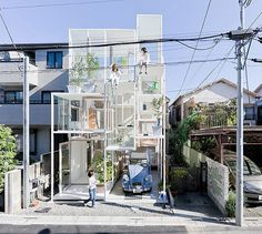 Ever wonder what it would be like to live in a transparent house? Well, the couple that commissioned Sou Fujimoto Architects to build House NA knows first-hand. In a total of 914 square feet, the house is a series of 21 floor plates at varying heights that give the feeling of living in a tree and satisfy the couple's desire to feel nomadic in their home.