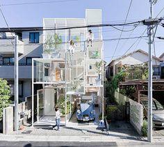 House NA by Sou Fujimoto Architects.