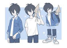 Anime Vs Cartoon, Anime Manga, Runaway Kids, Little Nightmares Fanart, Pokemon Ships, Anime Child, Kid Poses, Anime Poses, Anime Kawaii