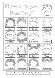 This worksheet is from my Exploring Emotions BUNDLEIt encourages ...