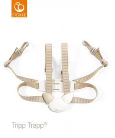 Stokke Tripp Trapp Sele Beige - Barnas Hus Aktiv, Fifa, Beige, Personalized Items, Accessories, Taupe