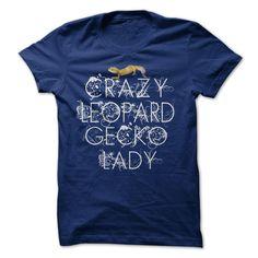 Crazy Leopard Gecko Lady - v2015