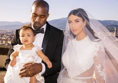 Click to see new exclusive pics from Kim Kardashian and Kanye West's wedding!