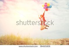 Mädchen Sommer Luftballons Stockfotos und -bilder   Shutterstock