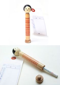 """Border Kokeshi"" is a Japanese letter set. Can be sent directly."