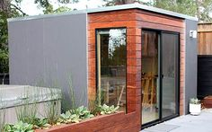 9 Sources for midcentury modern sheds - prefab, DIY kits, and plans