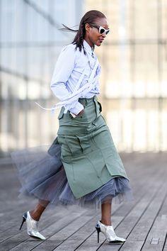 Неделя моды в Париже F/W 2015: street style. Часть 1 (фото 3)