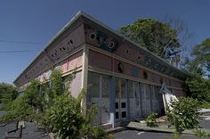 Arcade Building; Rocky Point Amusement Park, Warwick, Rhode Island, USA