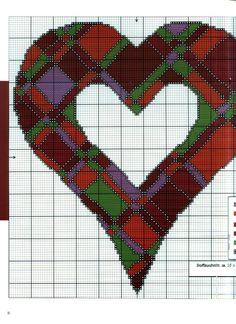 Gallery.ru / Foto # 1 - Grande cuore patchwork - Los-ku-tik