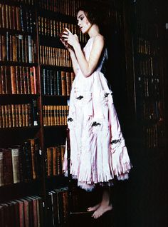 Keira Knightley in Vogue Italia January 2011