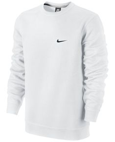 Nike Classic Fleece Crew Pullover - Hoodies & Sweatshirts - Men - Macy's