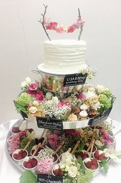 Cake Wedding Vintage Candy Buffet 55 Ideas For 2019 Diy Wedding Food, Wedding Desserts, Wedding Cakes, Cake Mix Cupcakes, Cupcake Cakes, Vintage Candy Buffet, Naked Cakes, Birthday Cake With Flowers, New Cake