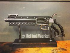 Scrap metal revolver  Brian Quail/ReFind Works