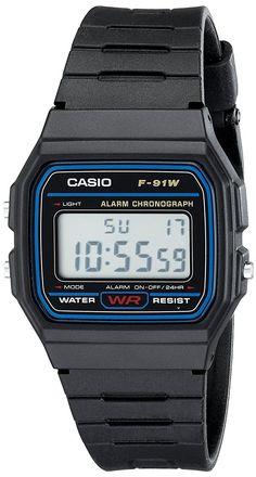 Casio F91W 1 Classic Resin Strap Digital Sport Watch