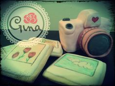 camara photo polaroid cake cookie