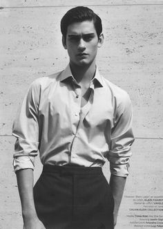 christos: Tristan Ridel at Elite Models Paris