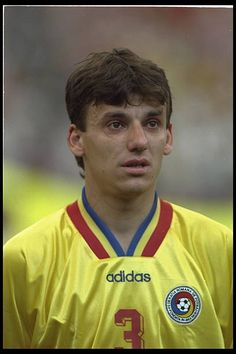 A portrait of Daniel Prodan of Romania before the start of the game. Football Soccer, Real Madrid, World Cup, God, Portrait, Sports, Fotografia, Legends, Dios