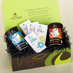 Fair Trade Chocolate Gift Set