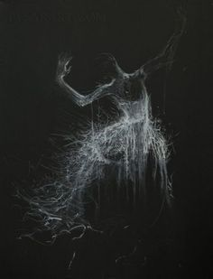 Black White Canvas Art Giclee