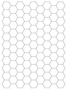 Mel Stampz: Hexagon digital paper template & hex. paper freebies ...