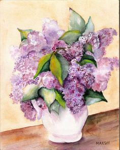 LILACS IN WHITE PITCHER by aladyx on DeviantArt