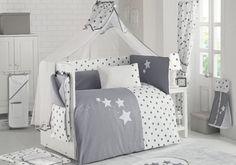 Βρεφική προίκα μωρού Star Night 08 Toddler Bed, House, Furniture, Home Decor, Child Bed, Decoration Home, Home, Room Decor, Haus