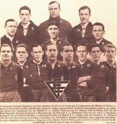 SELECCIÓN ESPAÑOLA DE FÚTBOL, 1934.