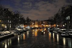 Amsterdam, Netherlands. Krystal and I made a pact for 2013.