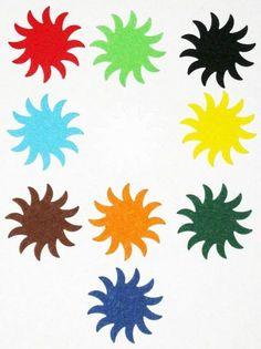 Stanzteile - 50 Sonnen - ein Designerstück von MutziflohsStoeberecke bei DaWanda