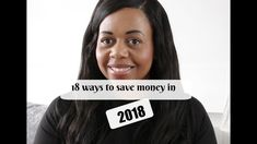 18 Ways to save money in 2018