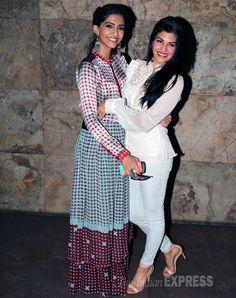 Sonam Kapoor watches friend Jacqueline Fernandez's 'Kick'