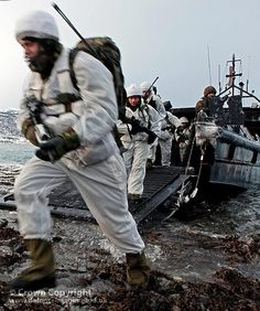 Royal Marines Stage Amphibious Landing in Norway by Defence Images, via Flickr