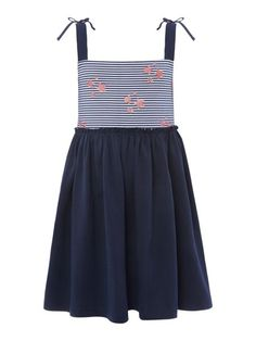 Girls Stars And Stripe Dress with link: https://www.houseoffraser.co.uk/kids-and-baby/little-dickins-and-jones-girls-stars-and-stripe-dress/d851613.pd#281112638 and I_281112662_00_20171124.?utmsource=pinterest