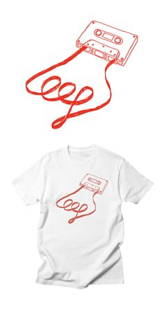 Analogue synth T-Shirt Design by Son of Sine. Analog Synth, All Design, Sons, Tape, Shirt Designs, Autumn, Winter, T Shirt, Clothes