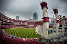 Great American Ballpark.  Home of the Cincinnati Reds!