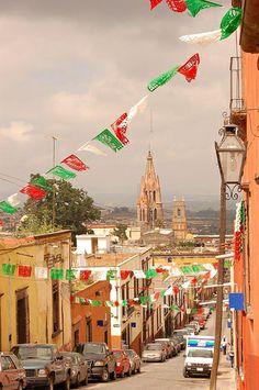 Viva Mexico!! San Miguel de Allende, Guanajuato, Mexico