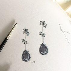 A Great saturday!  #jewelrydesign #love #drawingoftheday