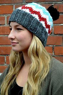 Ravelry: Bregne hat pattern by Joyce Tromba
