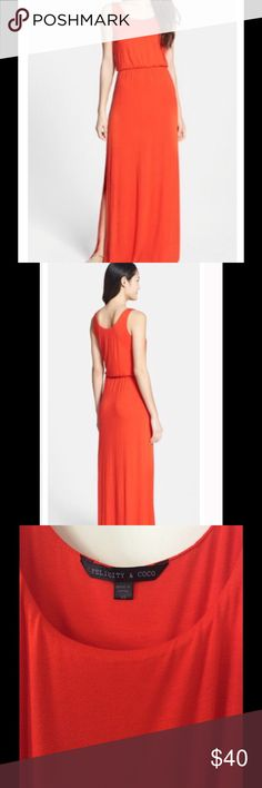 0b688d99582d5 Felicity and Coco Red Jersey Maxi Dress Size XS Felicity and Coco Jersey  Tank Maxi Dress