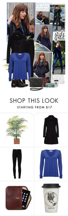"""""""Anastasia and Christian - Fifty Shades Darker"""" by iced ❤ liked on Polyvore featuring Magdalena, Moschino Cheap & Chic, Frame Denim, American Vintage, Natural Life and Bagatelle"""