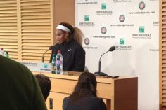 2014 Roland Garros Defending Champion Serena Williams' 2nd rd loss to Garbine Mugurza in Roland Garros sets #twitter ablaze! 5/28/14