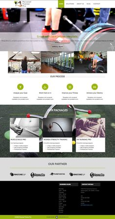 Personal Trainer Pro WordPress Gym & Fitness Theme - www.wpchats.com