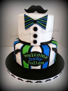 Mustache Cake Mustache Birthday, Mustache Theme, Mustache Party, Boy Birthday, Birthday Cake, Little Man Cakes, Little Man Party, Baby Shower Fun, Baby Shower Cakes