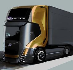 Volvo of the future? If you prefer Volvo's of the past check out our Volvo stock on Future Trucks, New Trucks, Cool Trucks, Volvo Cars, Volvo Trucks, Mercedez Benz, Engin, Heavy Truck, Truck Design
