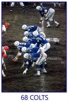 Colts QB Earl Morrall leads his team against the Browns (Johnny Unitas having been injured) Nfl Colts, Nfl Football Players, Sport Football, Football Helmets, School Football, Broncos, Baltimore Colts, Indianapolis Colts, Baltimore Maryland