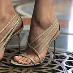 Champagne Glitter Evening Shoes Open Toe Stiletto Heels Prom Sandals for Party, … Champagne Glitter Abendschuhe Open Toe Pfennigabsatz Prom Party Nightclub, Date High Heels Boots, Lace Up Heels, Pumps Heels, Stiletto Heels, Heeled Sandals, Zapatos Shoes, Women's Shoes, Shoe Boots, Cute Shoes