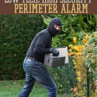 Make a cost-effective DIY perimeter alarm for all survival situations with this tutorial. Survival Life is the best source for survival gear, news, and tips.