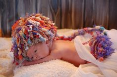 Items similar to Crochet Baby Bohemian OOAK Beannie with a tail - Boy or Girl - newborn - Ready to Ship on Etsy Anne Geddes, Kodak Moment, Types Of Yarn, Kid Spaces, Baby Love, Crochet Baby, Knits, Kid Stuff, Boy Or Girl