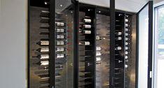 Steel wine cabinet Gravity Waasmunster 2013 - Degré 12